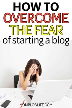 Want to start a blog, but you're scared? In this post, I investigate 7 of the biggest blogging fears and how to get over them so you can build a blog of your dreams. #blogging #blog #bloggingtips #startablog Earn Money Online, Make Money Blogging, How To Make Money, Blogging Ideas, Home Based Work, Work From Home Jobs, Seo For Beginners, Business Ethics, Build A Blog