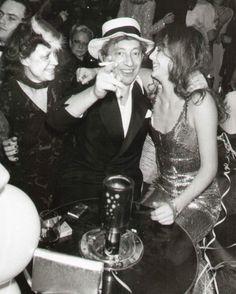 Regine, Serge Gainsbourg and Jane Birkin, Serge Gainsbourg, Gainsbourg Birkin, Nostalgia, Id Photo, 70s Aesthetic, Bcbg, French Collection, Provocateur, Jane Birkin