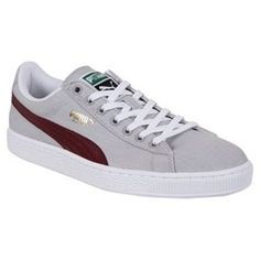 Puma Basket Classic Canvas Trainers #student #studentstyles #mensstudentstyles