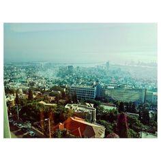Good morning beautiful Haifa! #thatview #alwaysgo #vsco #vscocam #instamood #gorgeous #toobadihavetogotowork #jetlagwhat #israel #travel by pennelle