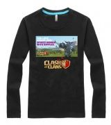 Clash of Clans t shirt for men PEKKA long sleeve tee cheap-