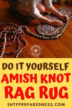 Rope Crafts, Easy Diy Crafts, Yarn Crafts, Fabric Crafts, Sewing Crafts, Rag Rug Diy, Dyi Rugs, Homemade Rugs, Crochet Rug Patterns