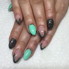 Day 165: Dark & Bright Nail Art - - NAILS Magazine