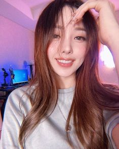 Pony Korean, Korean Girl, Asian Girl, Pony Makeup, Hair Makeup, Korean Beauty, Asian Beauty, Park Hye Min, Kim Sohyun
