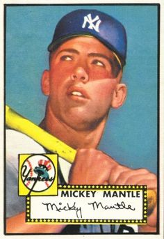 Micky Mantle Rookie Card