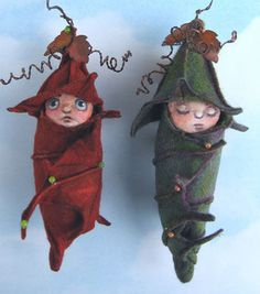 pod babies pattern  Cloth Doll Patterns by Susan Barmore