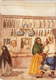 pancho fierro | Description Pancho fierro pulperia 1820.jpg