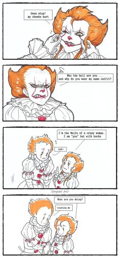 Two Pennywise ||short comic|| by DanyKabii