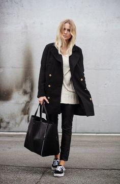 http://40tyfashion.blogspot.it/  Fashion, Beauty & Style only for Ladies: El purtava i scarp de tennis! (Adesso porta le Sne...