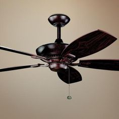 "52"" Kichler Canfield Tannery Bronze ENERGY STAR Ceiling Fan"