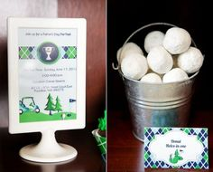 I really love the Father's Day Golf Par-Tee idea, especially the donut hole tie-in, but if you're looking for something truly unique this year, checkout http://www.YouCanPlanAParty.com/planning/theme-mood-a-colors.html. We threw a race-y party sure to rank high in Dad's standings!