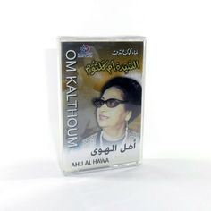 Cassette Tape Arabic Music Oum Kalthoum Sealed شريط نادر أم كلثوم أهل الهوى Tape, Cover, Books, Libros, Duct Tape, Book, Blankets, Book Illustrations, Ribbon