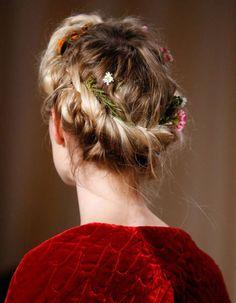 Coiffure cheveux mi-longs automne-hiver 2016