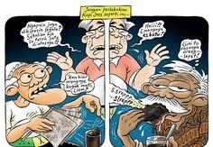 Kartun Benny, Tiga Manula: Kopi Joss