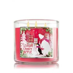 Bougie 3 Mèches Winter Candy Apple Bath and Body Works