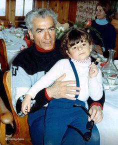 With Farahnaz Pahlavi