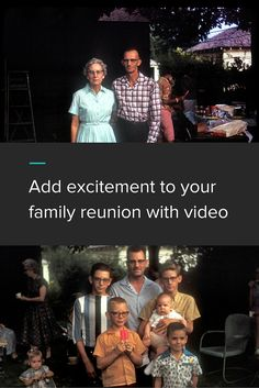 As joyous as a reunion can be, they require careful planning and innovative ideas to lure relatives from across the country to join in on the fun. Click through for 3 ways you can use Animoto videos for your upcoming family reunion!