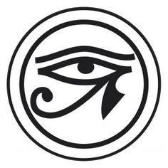 Ojo de Horus - Tienda MUFI Egyptian Cat Tattoos, Egyptian Drawings, Egyptian Symbols, Ancient Egyptian Art, Zodiac Signs Elements, Eye Of Ra, Egypt Art, Eye Of Horus, Black Art