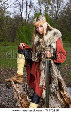 Google Image Result for http://image.shutterstock.com/display_pic_with_logo/398806/398806,1307473492,12/stock-photo-viking-girl-warrior-with-sword-in-a-wood-78772345.jpg