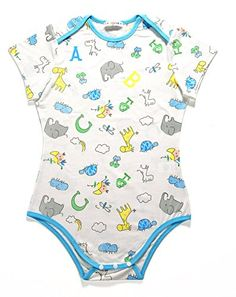 Littleforbig Adult Baby & Diaper Lover (ABDL) Button Crotch Romper Onesie - Giraffe and Zoo Animals Pattern Abdl Onesie, Girl Closet, Boys Shirts, Baby Dress, Onesies, Cute Outfits, Bodysuit, Rompers, How To Wear