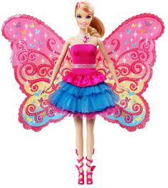 Discover the best selection of Barbie items at the official Barbie website. Shop for the latest Barbie toys, dolls, playsets, accessories and more today! Mattel Barbie, Moda Barbie, Mattel Shop, Barbie Fairy, Fairy Dolls, Barbie Style, Princess Barbie Dolls, Diy Kleidung, Barbie Movies