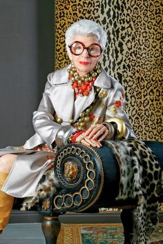 One Kings Lane will be listing 800 pieces of   Iris Apfel's on April 5th, that will include furniture, jewelry, and accessories! ...