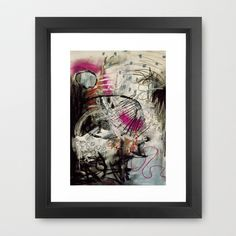 Can't change me Framed Art Print by Maria Wiley Art - $35.00