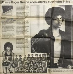 Blast from the past: The original article, recently rediscovered in the Minestota Star Tribune's archives, was part of a four-piece series published ahead of the local boy's 1984 film premiere of Purple Rain