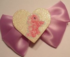 Lavender My Little Pony Glistening Hair Bow | Jenstardesigns - Accessories on ArtFire