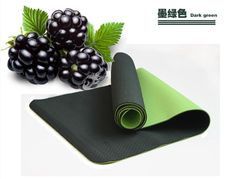 best dark green TPE foam yoga mats for sale from yogaers.com
