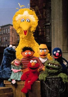 New Study Shows Sesame Street Viewership Can Lead to Kids' Success in School and Work Sesame Street Muppets, Sesame Street Characters, Jim Henson, Les Muppets, Oscar The Grouch, Pbs Kids, Diy Costumes, 50th Anniversary, Childhood Memories
