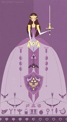 Nintendo Princess | Princess Zelda by Nikkie Stinchcombe