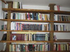 Knihovna - smrkové fošny Bookcase, Shelves, Home Decor, Shelving, Decoration Home, Room Decor, Book Shelves, Shelving Units, Home Interior Design