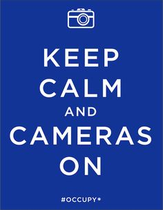 Keep Calm # occuprint: posters from the occupy movement