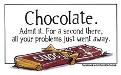 For more free cartoons daily, visit Jim Hunt Illustration Chocolate Humor, Chocolate Quotes, Death By Chocolate, I Love Chocolate, Chocolate Shop, Chocolate Art, Chocolate Coffee, How To Make Chocolate, Chocolate Lovers