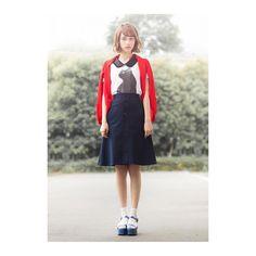 いいね!2,235件、コメント42件 ― 天海あかり | Akari Amamiさん(@akari_amami)のInstagramアカウント: 「うちのブランドでも人気の猫ちゃんアイテム💕 このあとは撮影です😇 ・ Tops / #MUVEIL Skirt / #OPENINGCEREMONY Shoes / #PRADA ・ #今日のコーデ…」