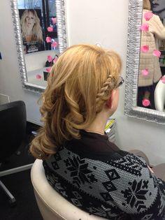 Waves blond hair + torchon fatti mezz'ora fa :-)