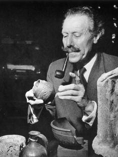 Sir Mortimer Wheeler Photographic Print