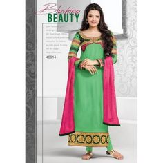 Kajal Aggarwal Green Gerogette Salwar Suits At Girotra Store Opening - Buy Kajal Aggarwal Green Gerogette Salwar Suits Online at Best Prices in India | Vendorvilla.com at just Rs.2250/- on www.vendorvilla.com. Cash on Delivery, Easy Returns, Lowest Price.