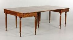 19TH C. FEDERAL WALNUT DINING TABLE April 12th Estate Auction | Kaminski Auctions