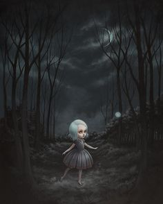 Into the Night by Mab Graves by mab graves, via Flickr
