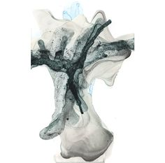 kia neill :: residual form 26 :: made by manipulating pools of watered down paint with a hairdryer