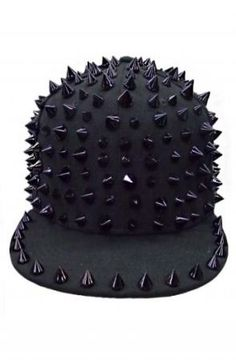 Black Spike SnapBack hat by Queen Trends