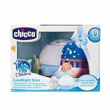 Chicco - Projetor Boa Noite Estrelinhas Azul