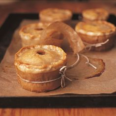 Scotch Pie Recipe, lamb in a hotcrust pastry. Enjoy more pins inspired by Outlander here: https://www.pinterest.com/KaveyEats/outlander-inspiration/