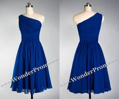 Blue bridesmaid dress,