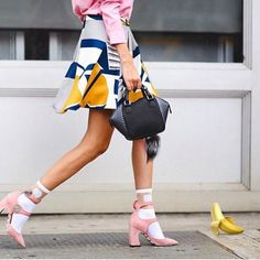 7 Ways to Wear Statement Shoes This Season via Brit + Co.