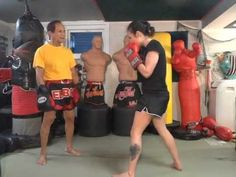 Duck and 5 Punch Combo - Master K Muay Thai