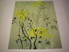 Eyvind Earle 034 Wild Flowers 034 21 100 Serigraph on Paper 1987 | eBay