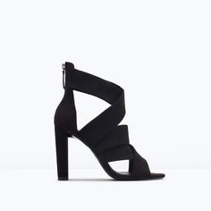 HIGH HEEL STRAPPY SANDALS-Shoes-Woman-SHOES & BAGS | ZARA Canada